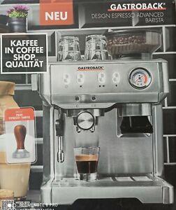 GASTROBACK 42619 Design Espresso Advanced Barista Maschine Edelstahl