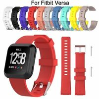 Useful Silicone Wrist Band Strap Belt For Fitbit Versa Wristband Small Large -