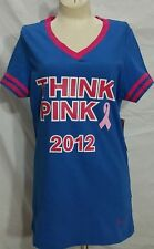 Breast Cancer Awareness THINK PINK 2012 Victoria's Secret Jersey Shirt S Top NWT