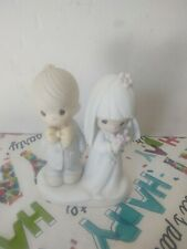 Precious Moments Bride and Groom Figurine The Lord Bless You And Keep You New