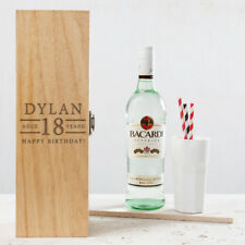 Personalised 18th Birthday Gift Male For Him Boys Men Son Engraved Alcohol Box