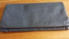 Saddler for Topshop Navy Leather Wallet or Phone holder, zipped inner & cardslot