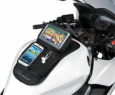 Universal Motorcycle Trike GPS Mate SMART PHONE TANK POUCH Magnetic Mount NEW
