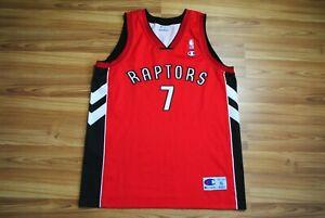TORONTO RAPTORS NBA CHAMPION BASKETBALL SHIRT JERSEY CAMISETA BARGNANI #7 XL RED