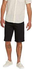 VOLCOM Frickin MENS BLACK Chino Shorts SZ 29 Casual Walking Shorts Summer NWT