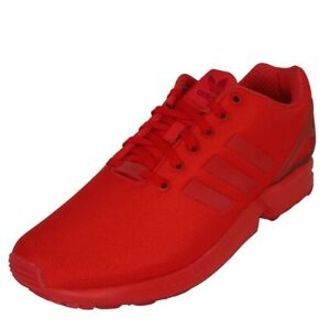 Adidas ZX Flux Men's Shoes Running Athletic Red Nylon Vintage AQ3098 Size 11 New