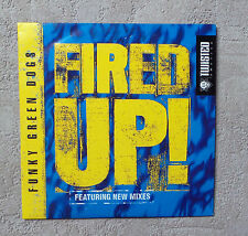 """CD AUDIO/ FUNKY GREEN DOGS """"FIRED UP"""" CDS 2 TRACKS TWISTED AMERICA TWD-49031"""