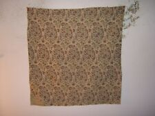 "Highland Court ""Wisteria"" embroidered floral remnant for craft color multi"
