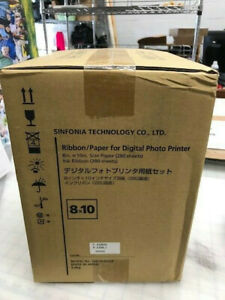 8X10 RIBBON/PAPER FOR SHINKO DIGITAL PHOTO PRINTER