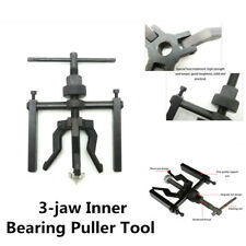 Carbon Steel 3-jaw Inner Bearing Puller Gear Extractor Car Machine Tool Kit S7D1
