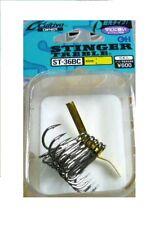 Owner ST36BC Treble Hooks Sz 2/0 Black Lure Hooks Qty.5 Box Hooks New