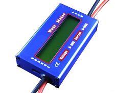 DC WATT METER LCD 60V/100A Balance Voltage RC Battery Power Analyzer Watt Meter