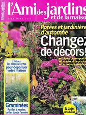 L'AMI DES JARDINS N° 938 ; TRICYRTIS  BROCOLIS  LAPIN NAIN  PLANTES D'INTERIEUR
