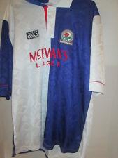 "Blackburn Rovers 1992-1994 Home Football Shirt Size XL 42""-44"" /6362"