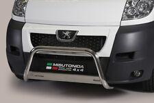 """Peugeot Boxer 2006 -2016  Ø63mm BULL BAR NUDGE BAR """"CE APPROVED"""" Frontbügel"""