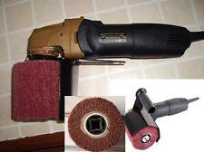 Hand Held Burnishing tools machine 24 Wheel Polishing Stainless Steel Fein flap