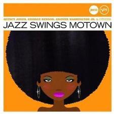 JAZZ SWINGS MOTOWN - COMPILATION  * NEW CD * NEU *