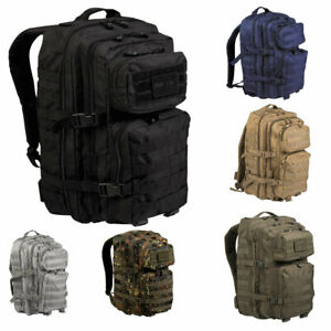 Mil-Tec US Assault Pack Large Angeln Molle Rucksack Wandern Outdoor Military