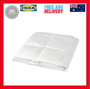 IKEA FJÄLLBRÄCKA Light Warm Duvet Doona Soft Fluffy Duck Down Feather 150x200cm