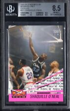 BGS 8.5 w/9 SHAQUILLE O'NEAL 1993-94 Stadium Club Members Only Beam Team NM-MT+
