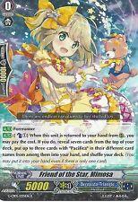 CARDFIGHT VANGUARD CARD: FRIEND OF THE STAR, MIMOSA - G-CB05/033EN R RARE