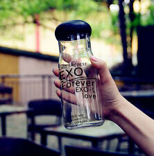 Forever love Exo water bottle with box LUHAN SEHUN BAEKHYUN CHANYEOL KAI Kpop