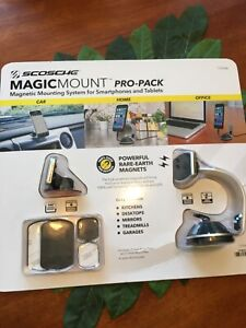 Scosche MagicMount Pro Pack magnetic system for smartphones & tablets NEW