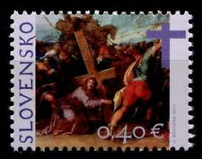 Pascua. kreuztragung de Cristo. pinturas de Hans von Aachen. 1w. eslovaquia 2012