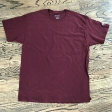 Champion Mens Classic Jersey Tee T-Shirt Athletic Fit Short Sleeve Size Large