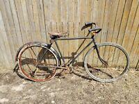 Antique Spalding's Nyack Men's Wood Rim Bicycle New York