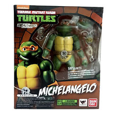 Bandai Nickelodeon Teenage Mutant Ninja Turtles TMNT Michelangelo SH Figures Toy