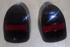 VW Beetle BUG Pair 2pcs EURO TAIL LIGHT LENS LENSES 1968-1970 Dark Red White