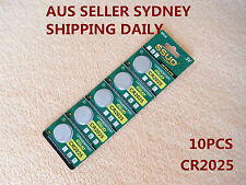 10pcs CR2025 Button Cell Coin Lithium Battery 3V Watch Toy Calculator JAPAN STD