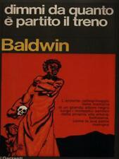 DIMMI DA QUANTO E' PARTITO IL TRENO PRIMA EDIZIONE BALDWIN JAMES