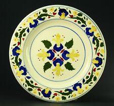 ! Ea.1900's ART DECO Stenciled Hand Painted Plate L.D.B. & Co. Czechoslovakia