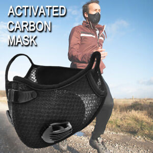 Activated Carbon Face Cover with Filter muffler Shield Dustproof Mouth-muffle