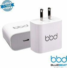 USB-C 18W Wall Charger Fast Charging Adapter for iPad iPhone Samsung Galaxy