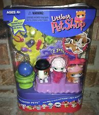 Littlest Pet Shop Totally Talented Pets 152 153 Cat 154 Bull Terrier 2005 Vhtf