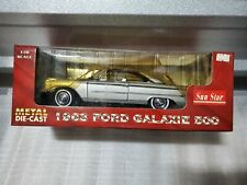 Sunstar Toys #1461 1963 Ford Galaxie 500 (Champagne-Silver) VERY RARE Color