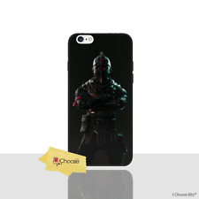 Fortnite Case/Cover For Apple iPhone 6/6s / Screen Protector / Black Knight