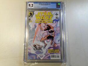 Star Wars Clone Wars #8, Asajj Ventress Cover, CGC 9.2