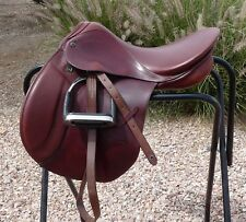 """Stubben Roxane All Purpose Saddle Irons Leathers Cover 17.5"""""""