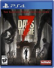 7 Days to Die - PlayStation 4 Brand New Ps4 Games Sony Factory Sealed 2016