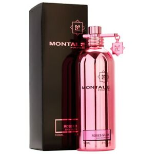 Montale Roses Musk Women's Eau de Parfum - 3.4 fl. oz New! Unopened! Sale!!