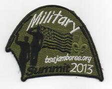 2013 National Jamboree Promo Tent Patch Series, Military, Mint!