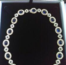 Ciner ~ Vintage Necklace muy brillante tan hermoso ~ lo que un hallazgo ~ excepcional