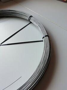 Stainless Steel Jewellery Making Fishing Wire 304 Grade Choose Diameter & Length