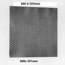 AMPLIFICATORE ACCIAIO RETE GRIGLIA PER per altoparlante 600 x 521mm