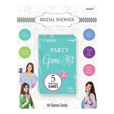 Party Decorations Supplies Bridal Shower Game Kit