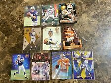 (10) Peyton Manning RC Rookie Card Lot w/ Die Cut, #d Inserts ETC NICE!!
